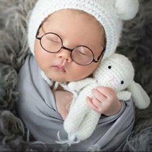 Accessories - Newborn flat glasses photo prop